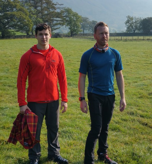 Walkers wearing Jack Wolfskin clothing