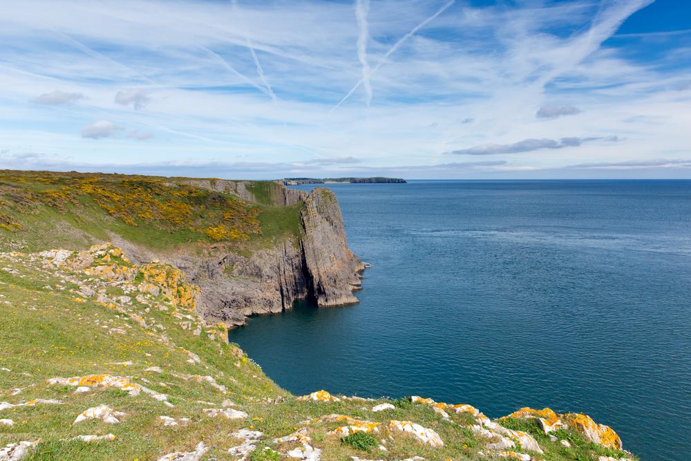 Lydstep cliffs, Pembrokeshire