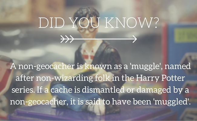 geocache - what is a muggle?
