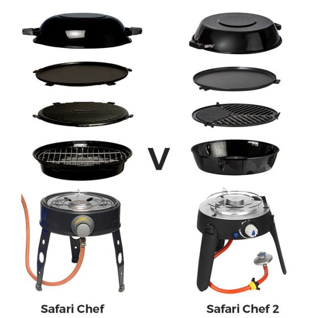 Product review cadac safari chef vs safari chef 2 winfields - Cadac safari chef ...