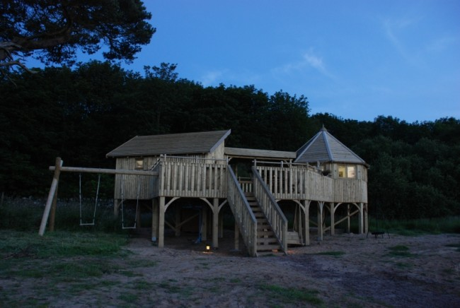 Harvest Moon glamping in Scotland