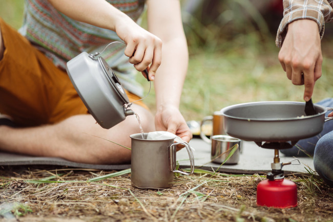 Cooking at music festivals