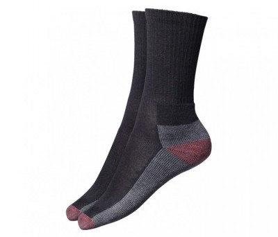 Black Dickies cushion socks