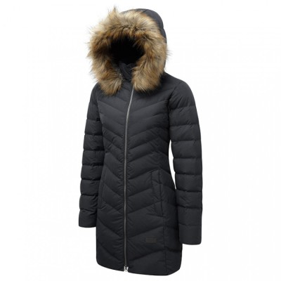Black Sprayway womens coco down parka coat