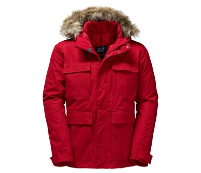 Jack Wolfskin mens point barrow parka jacket