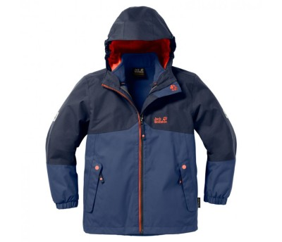 Jack Wolfskin boys Iceland 2 in 1 jacket