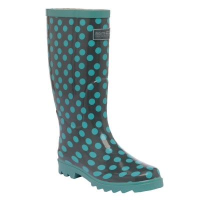 Regatta women's spotty wellies