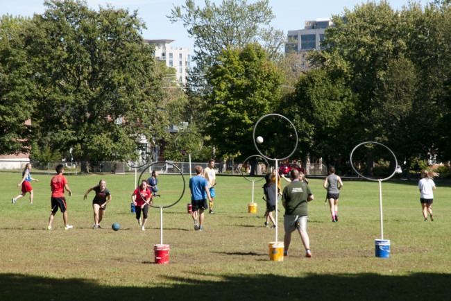 real life actual quidditch