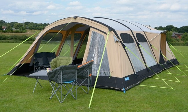 K&a Studland 8 Classic polycotton Air Tent & What are the Best Polycotton Tents? | Winfields Outdoors