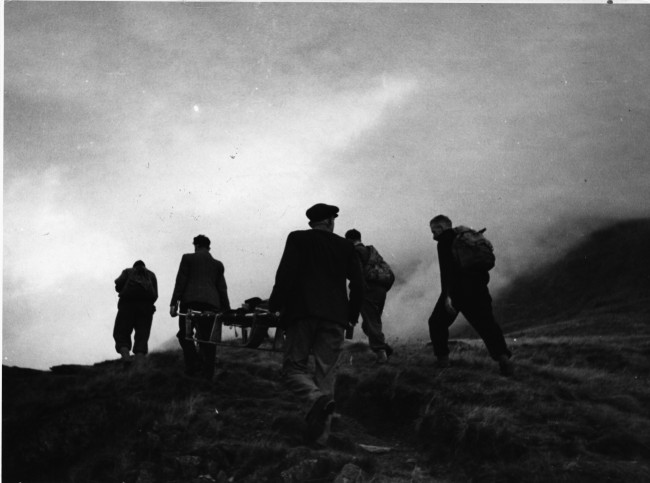 historical mountain rescue picture