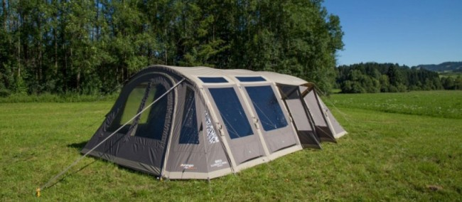Vango AirBeam Illusion TC 800XL polycotton Tent & What are the Best Polycotton Tents? | Winfields Outdoors