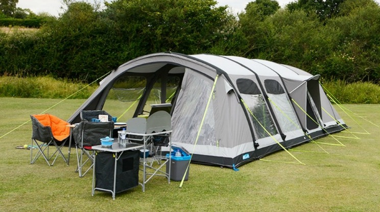 K&a Studland 8 Air Tent & The 10 Best Family Camping Tents 2018 | Winfields Outdoors