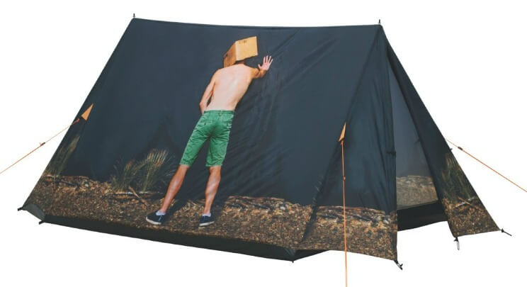 Easy camp festival tent