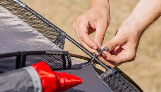 How To Fix Broken Fibreglass Tent Poles