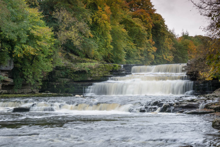 Aysgarth Falls in Yorkshire