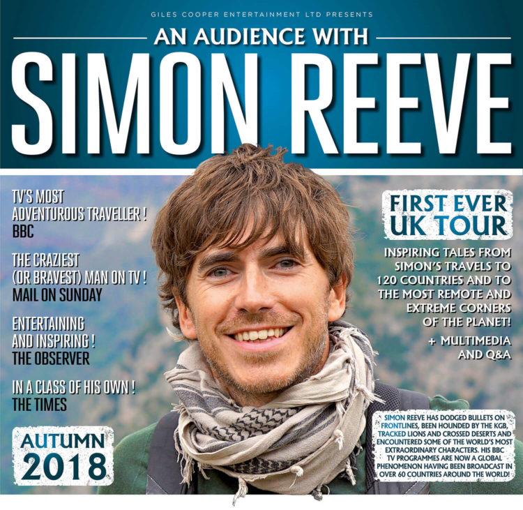 Simon Reeve tour dates