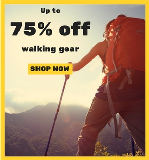 walking gear sale