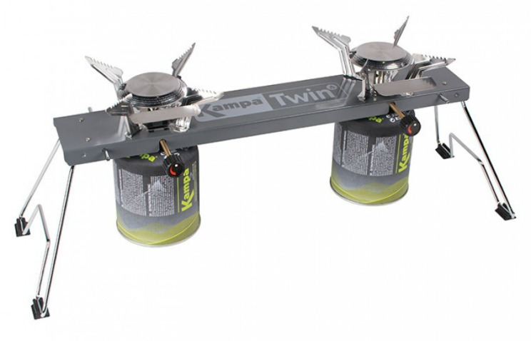 kampa twin two burner camping stove