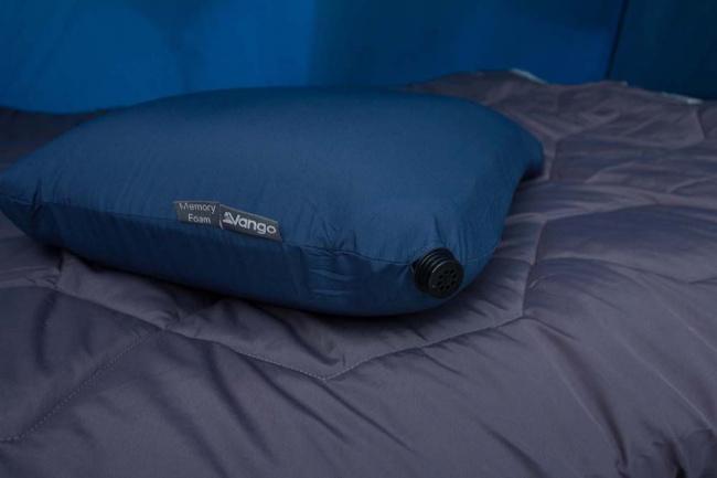 Vango Comfort Foam Pillow. Inflatable